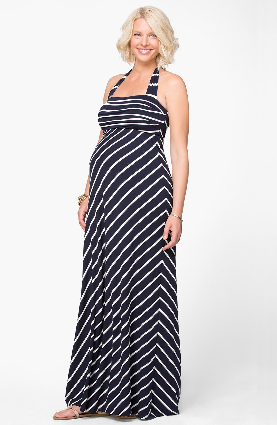 Alternate Image 1 Selected - Ingrid & Isabel® Convertible Maternity Maxi Dress