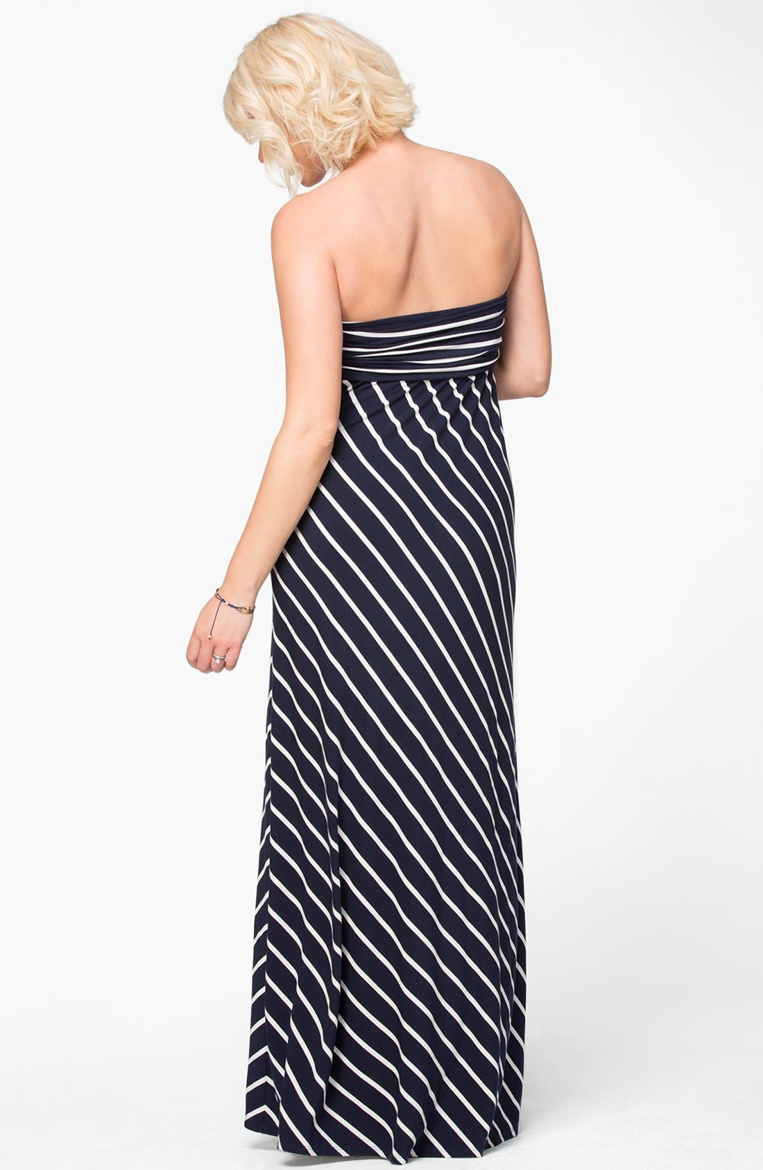 Alternate Image 5  - Ingrid & Isabel® Convertible Maternity Maxi Dress