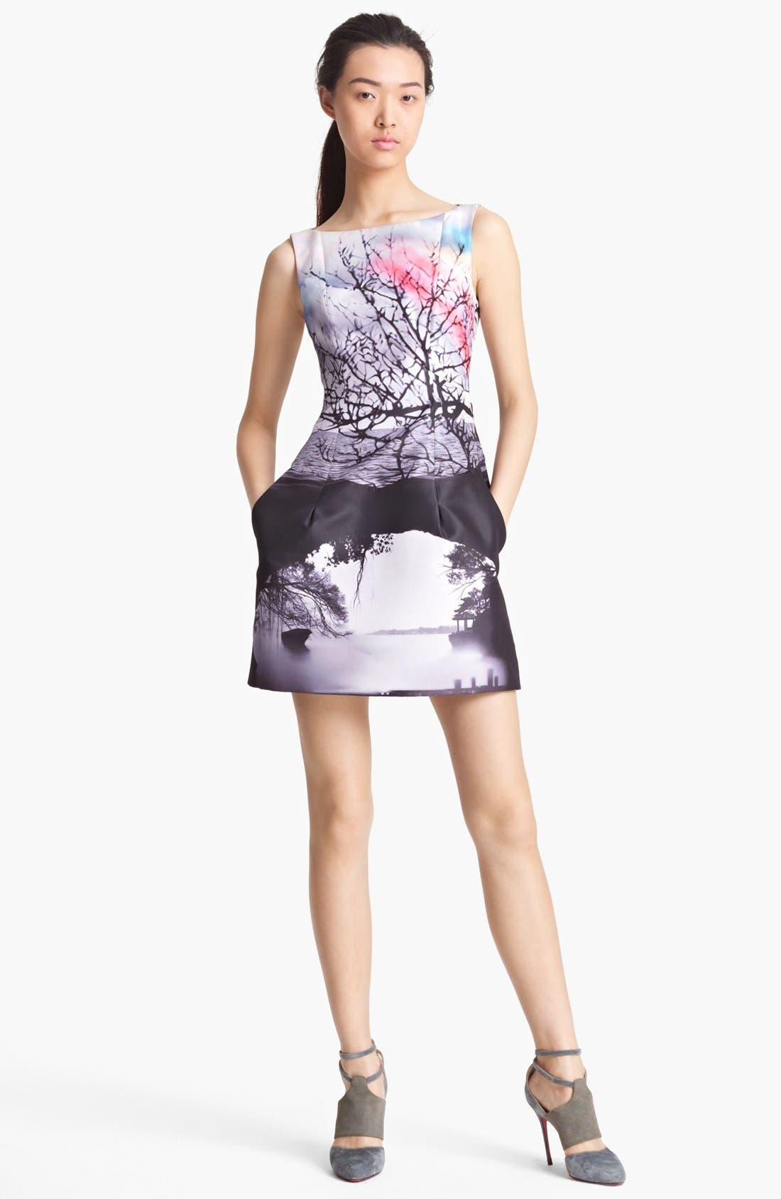 Alternate Image 1 Selected - Mary Katrantzou Sleeveless Print Dress