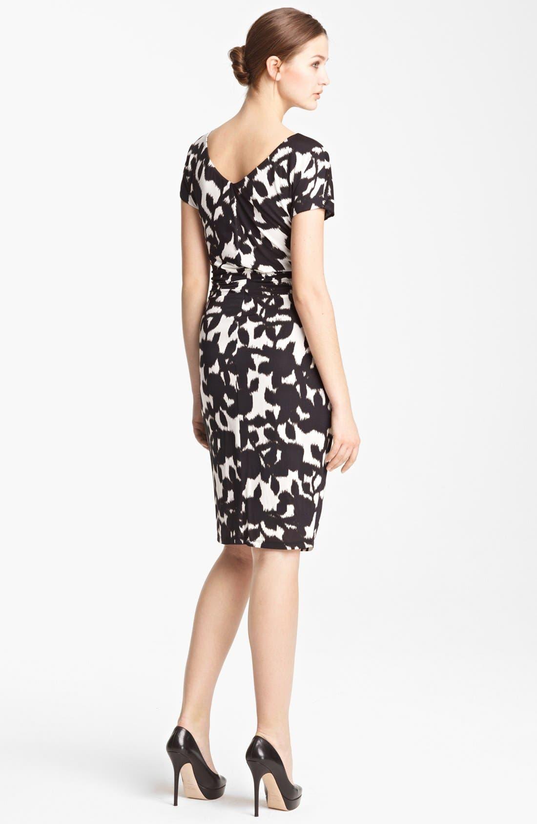 Alternate Image 2  - Max Mara 'Canore' Print Jersey Dress