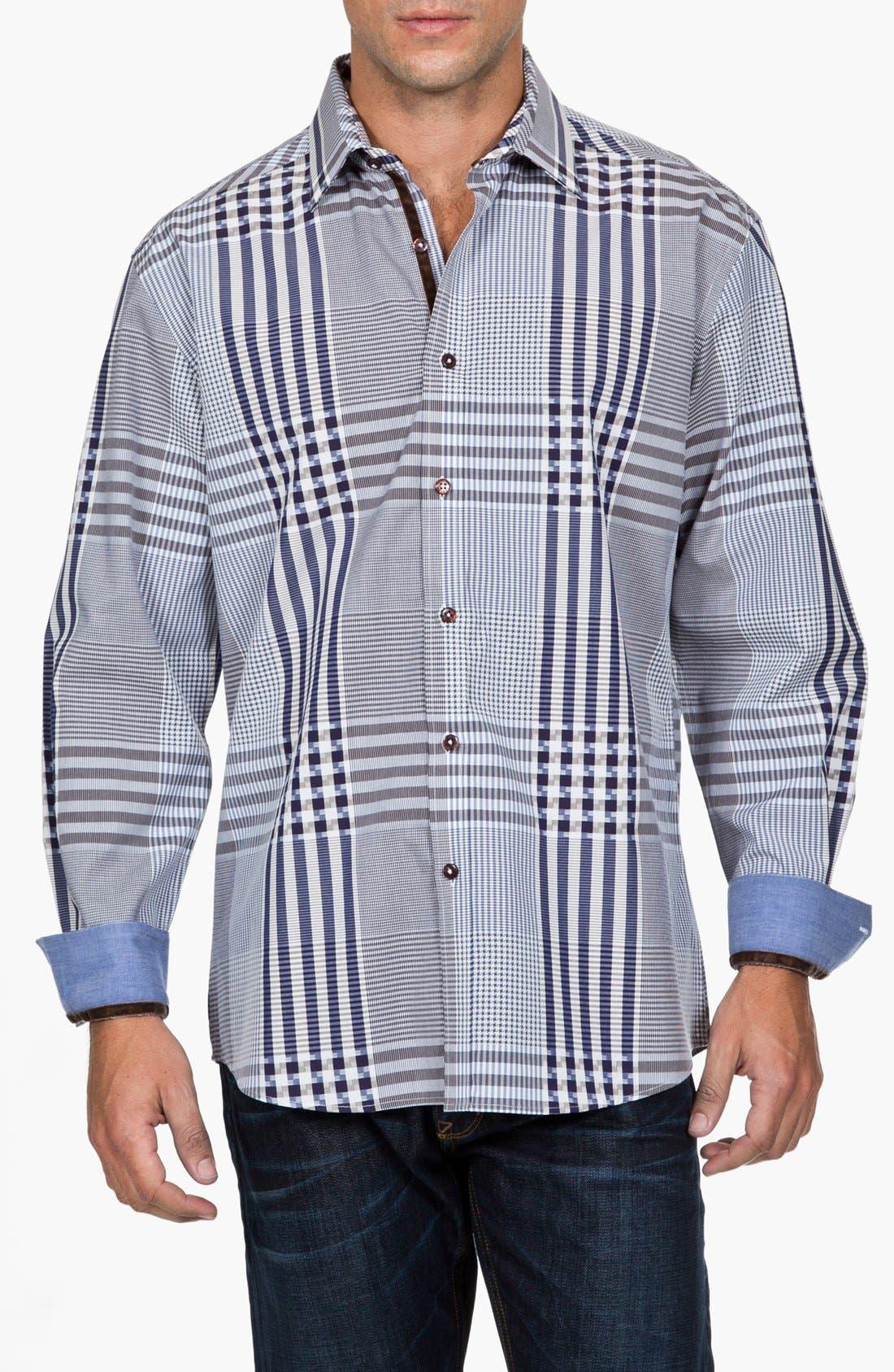 Alternate Image 2  - Zagiri 'Mans' Regular Fit Sport Shirt