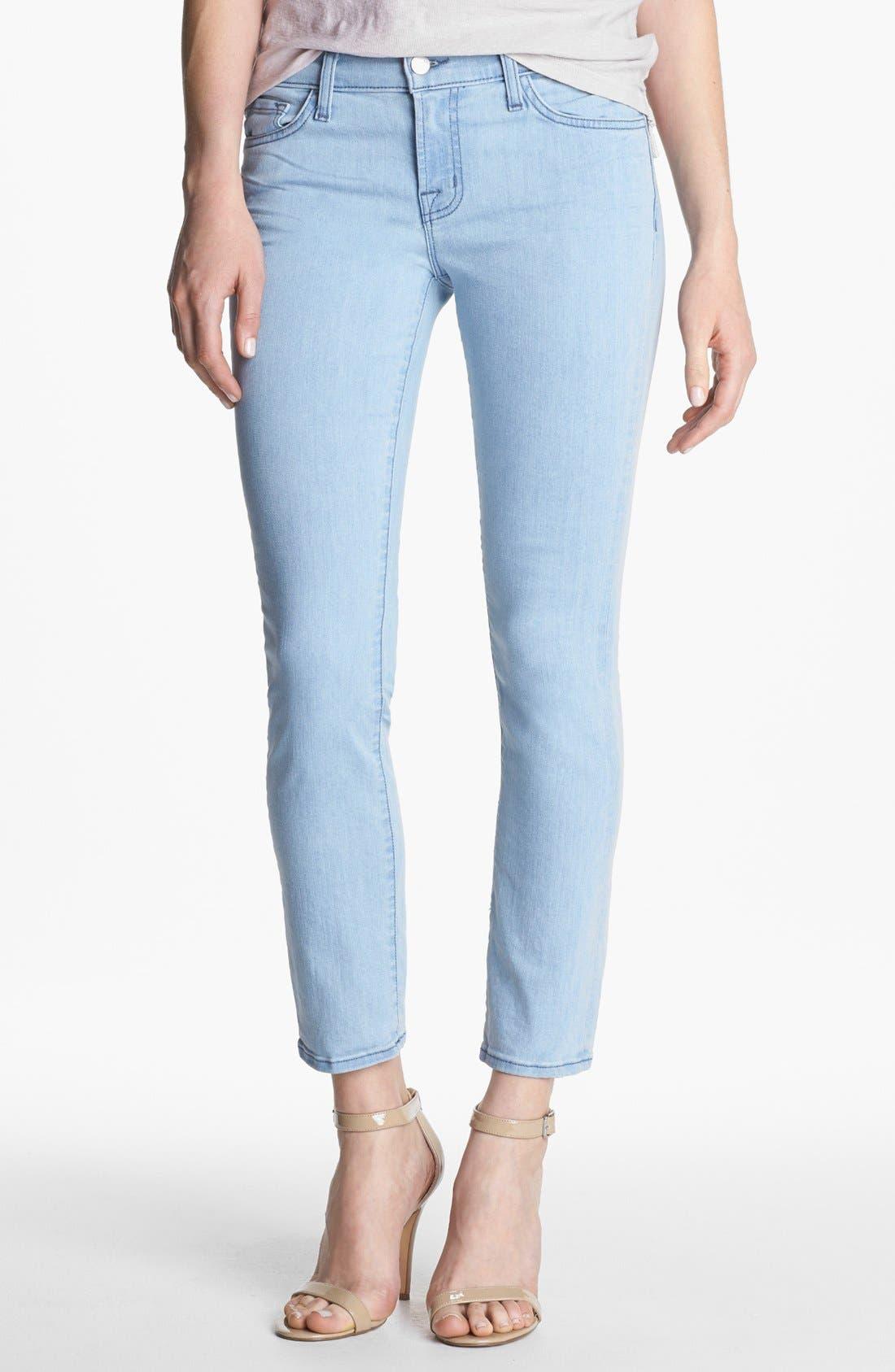 Alternate Image 1 Selected - J Brand Pencil Leg Stretch Jeans (Beautiful Blue)