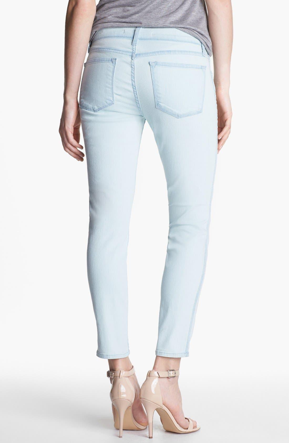 Alternate Image 2  - J Brand 'Allegra' Ankle Skinny Jeans (Nirvana Sky)