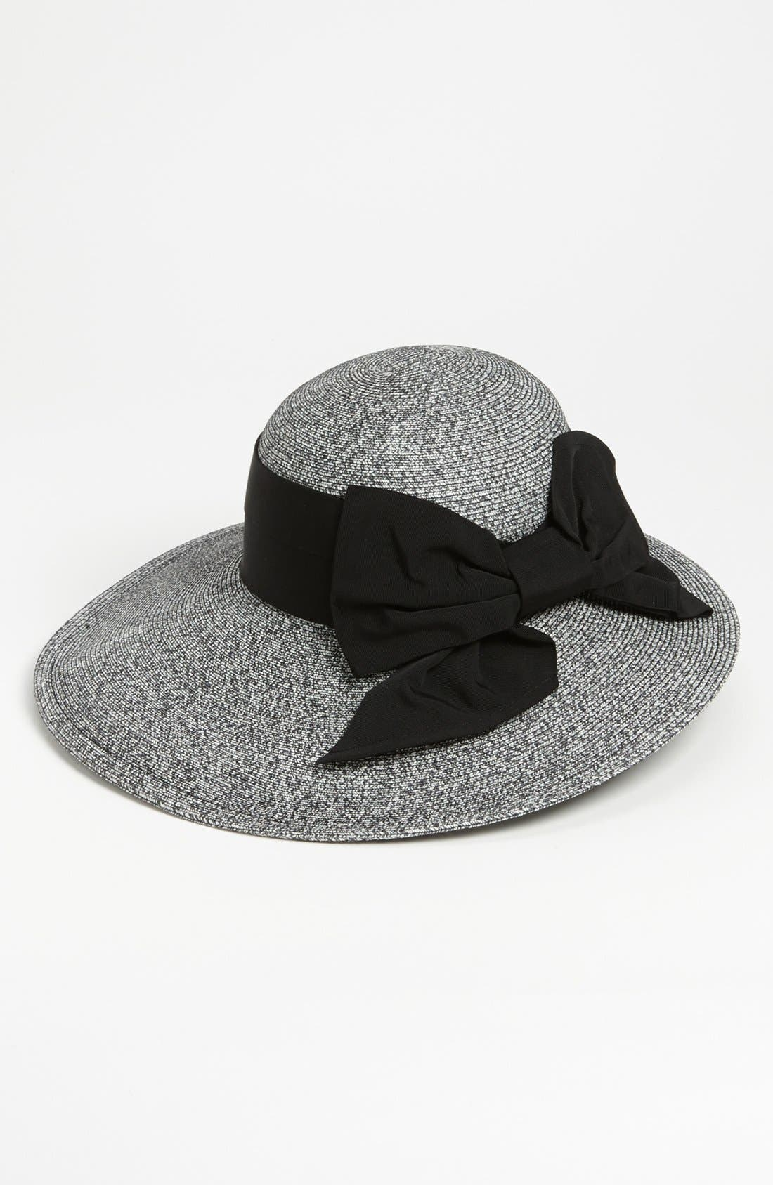 Alternate Image 1 Selected - Nordstrom Asymmetrical Straw Hat
