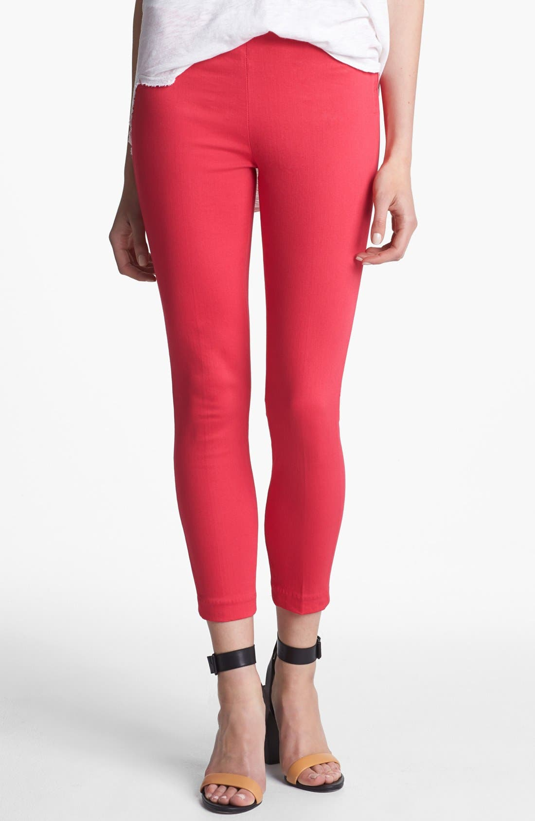 Alternate Image 1 Selected - J Brand 'Clean' Stretch Capri Pants