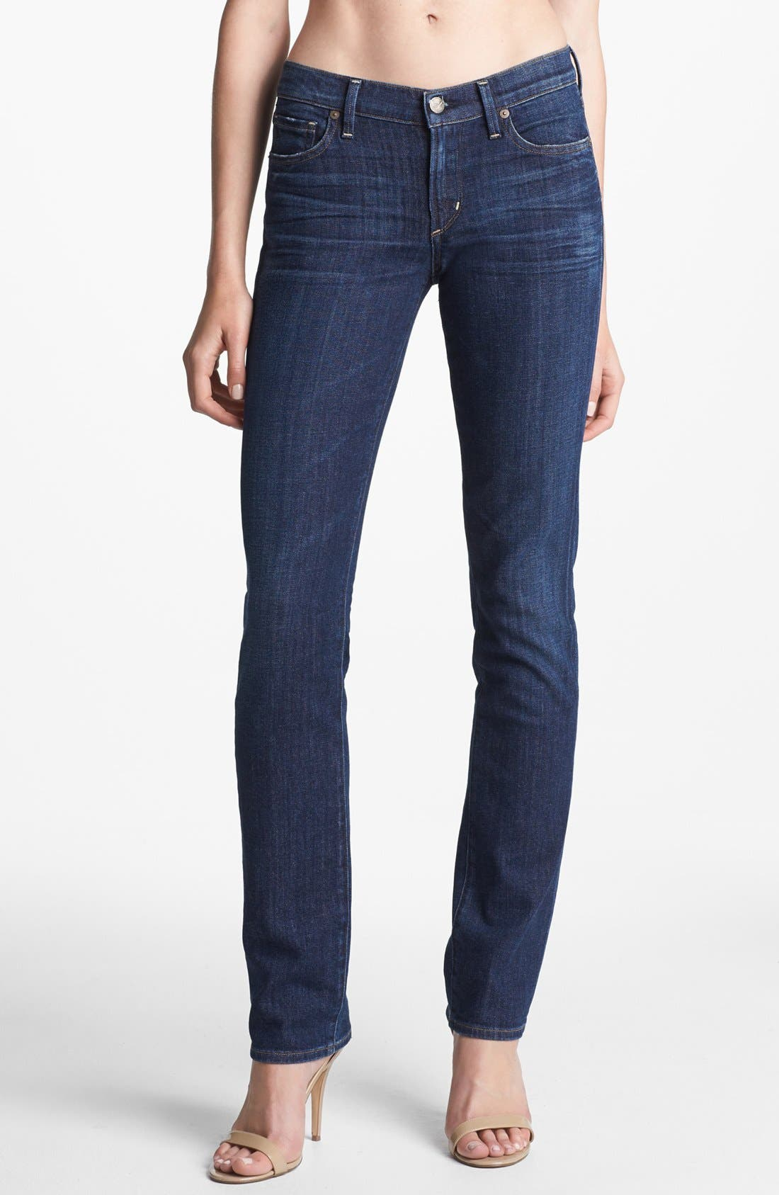 Alternate Image 1  - Citizens of Humanity 'Ava' Straight Leg Jeans (Meteor)