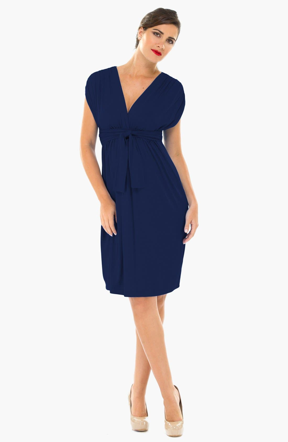 Alternate Image 1 Selected - Olian Sleeveless Maternity Dress