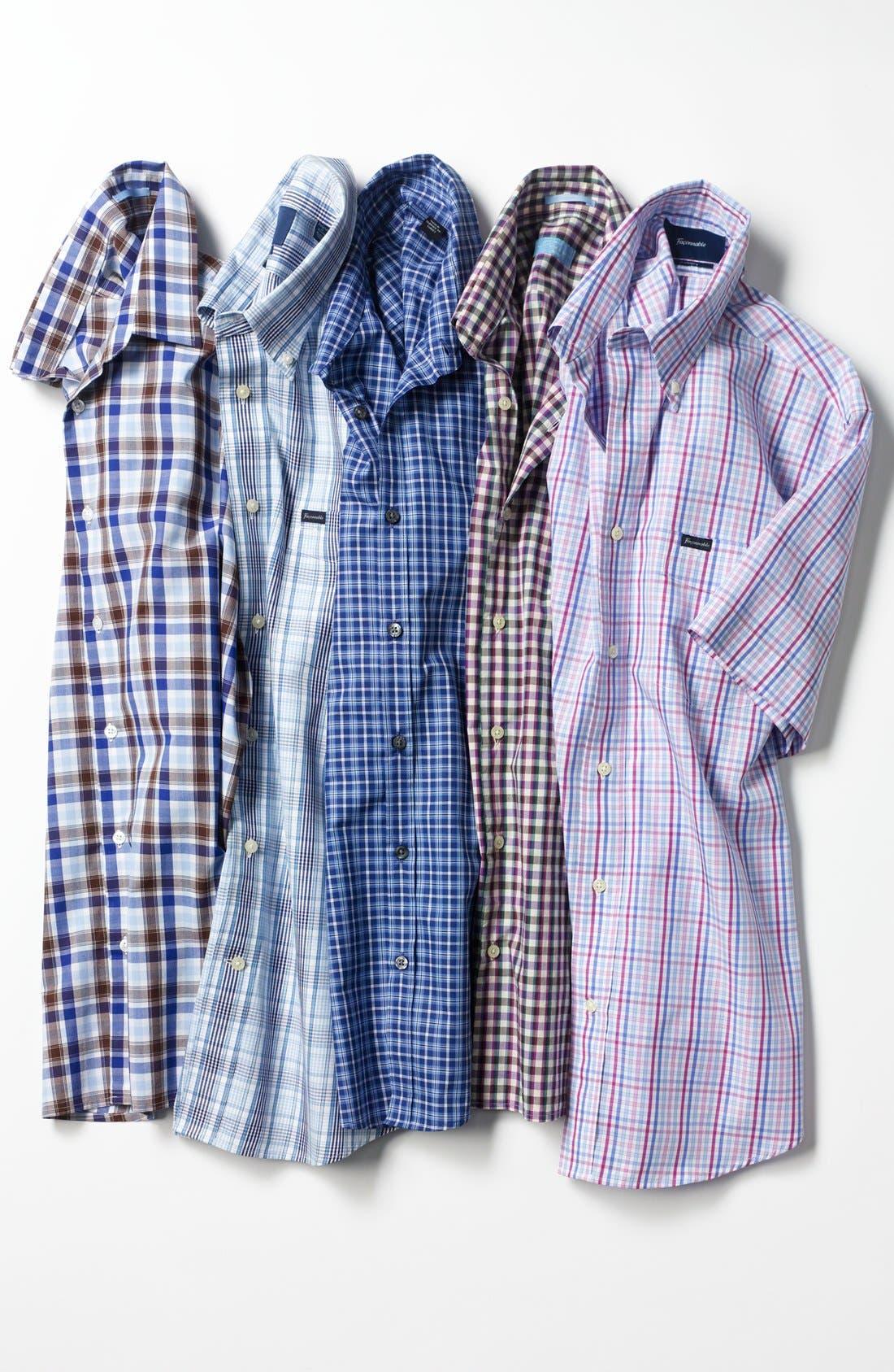 Alternate Image 4  - BOSS HUGO BOSS 'Marc' Slim Fit Sport Shirt