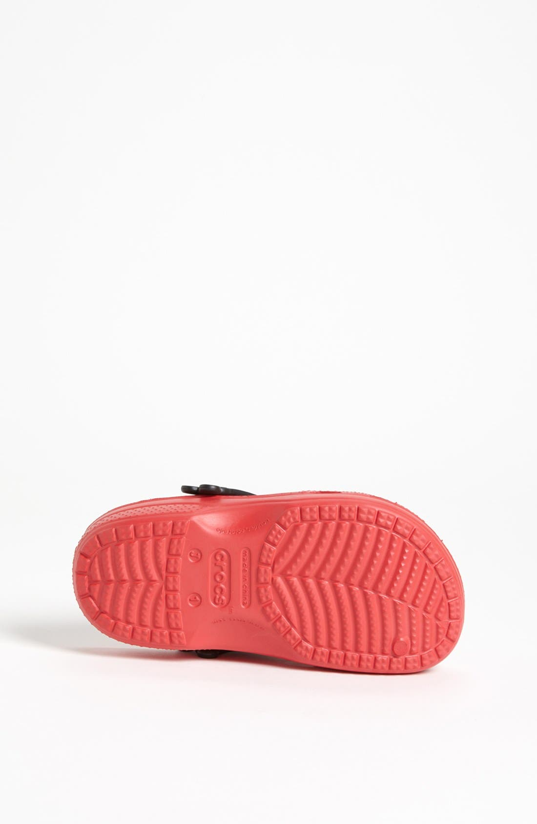 Alternate Image 4  - CROCS™ 'Mickey® Whistles' Clog (Walker, Toddler &  Little Kid)