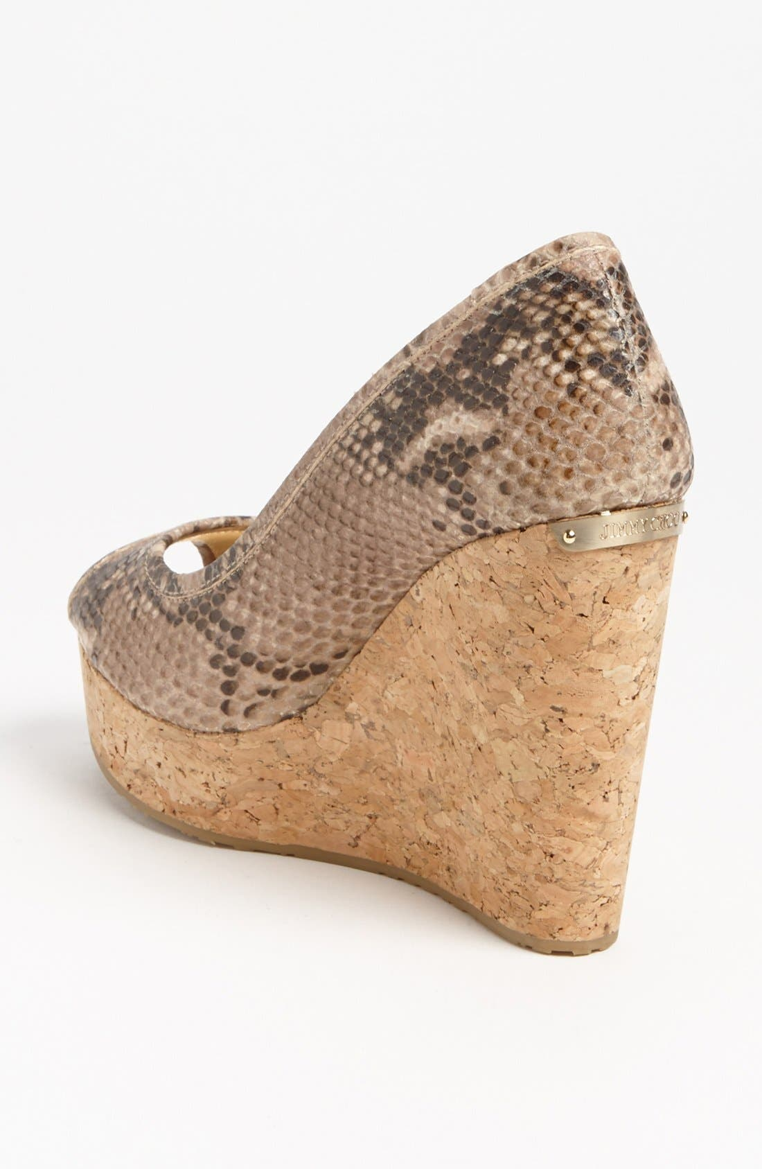 Alternate Image 2  - Jimmy Choo 'Papina' Cork Wedge Pump