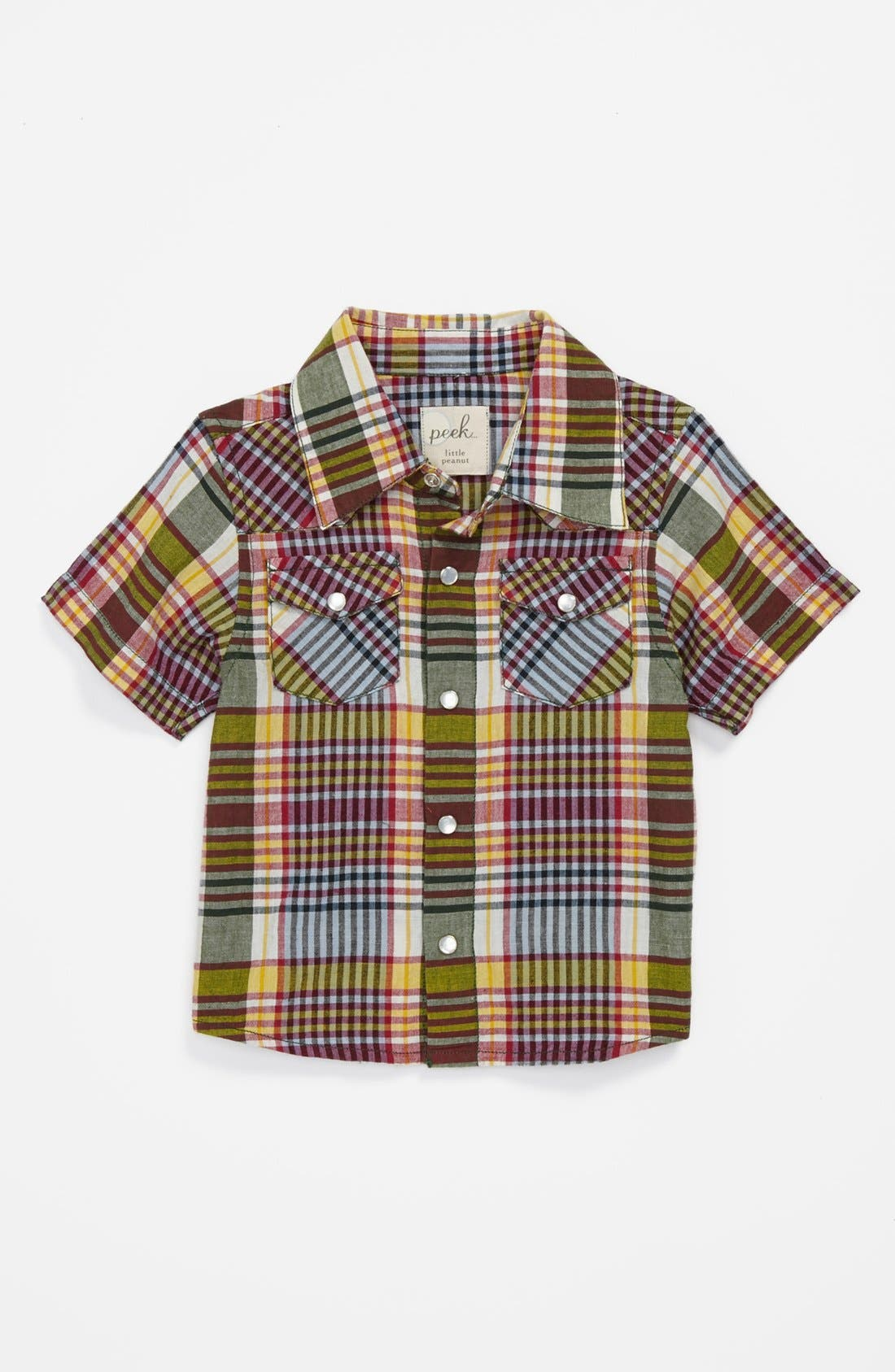 Main Image - Peek 'Wyatt' Sport Shirt (Baby Boys)