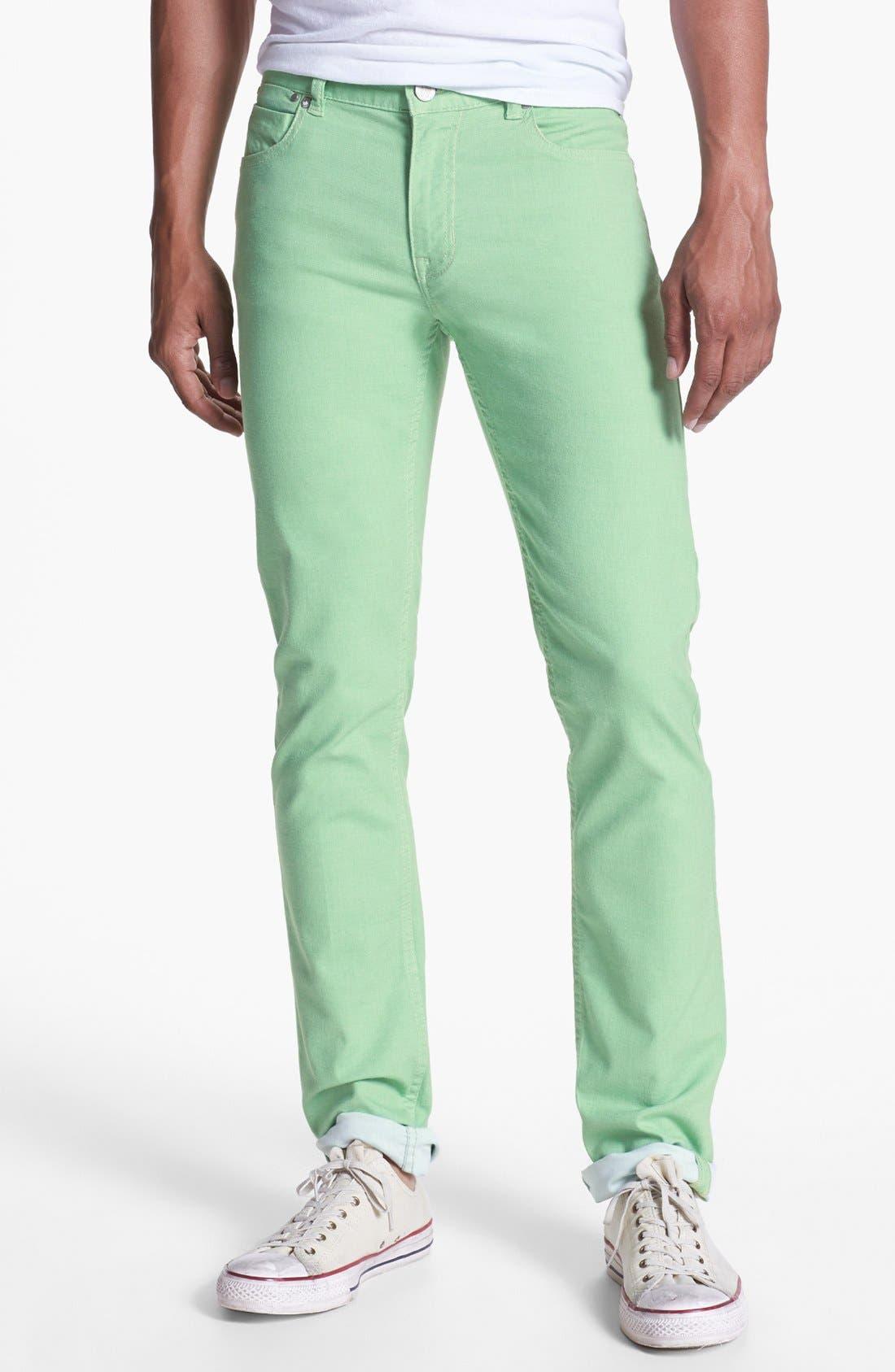 Alternate Image 1 Selected - Williamsburg Garment Company 'S. 4th Street' Skinny Stretch Pants