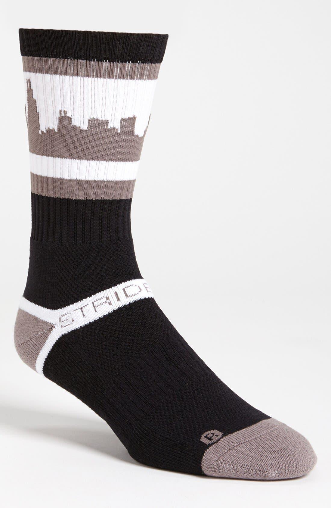 Alternate Image 1 Selected - STRIDELINE 'Chicago' Socks