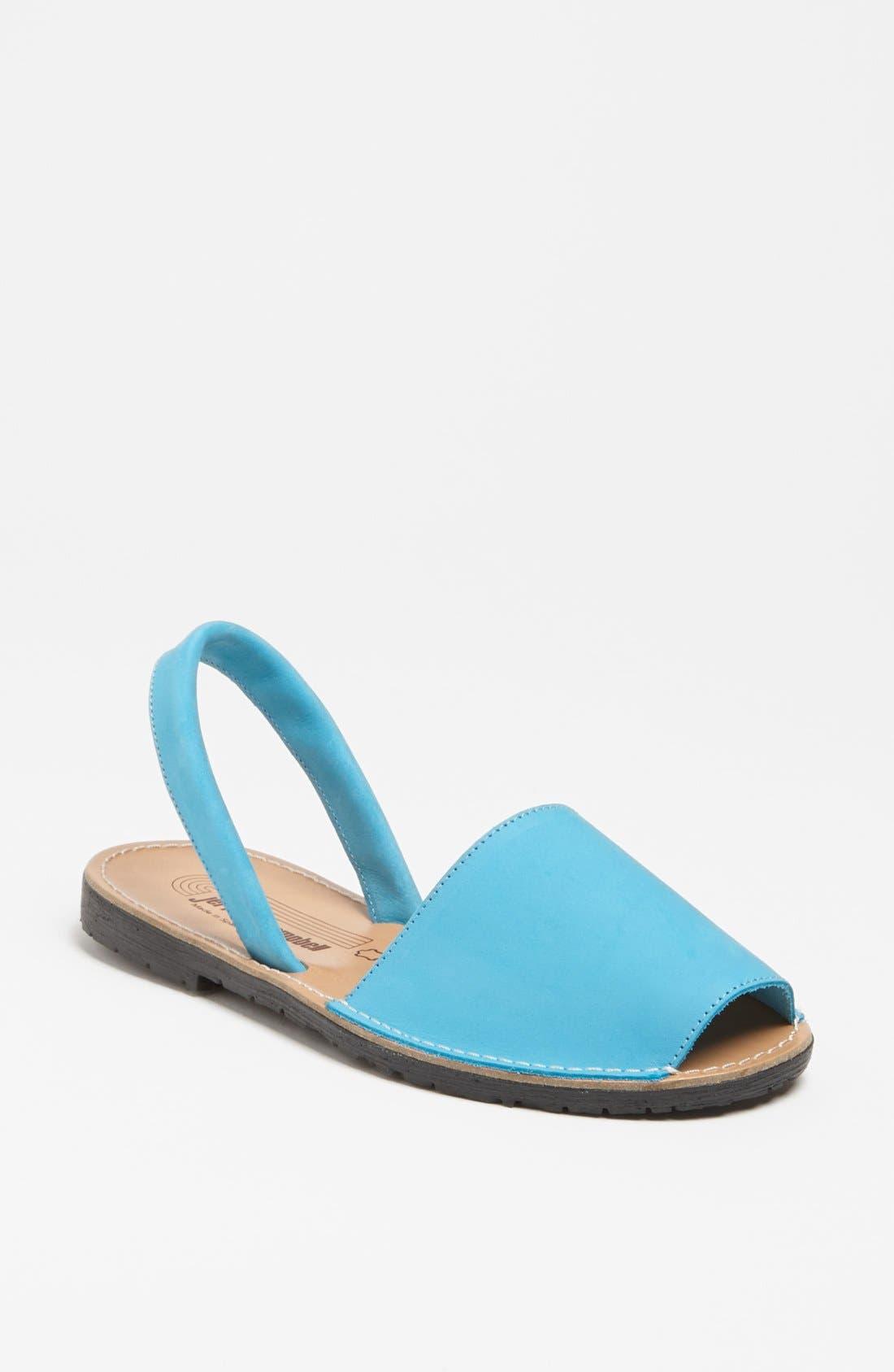 Alternate Image 1 Selected - Jeffrey Campbell 'Ibiza' Nubuck Leather Sandal