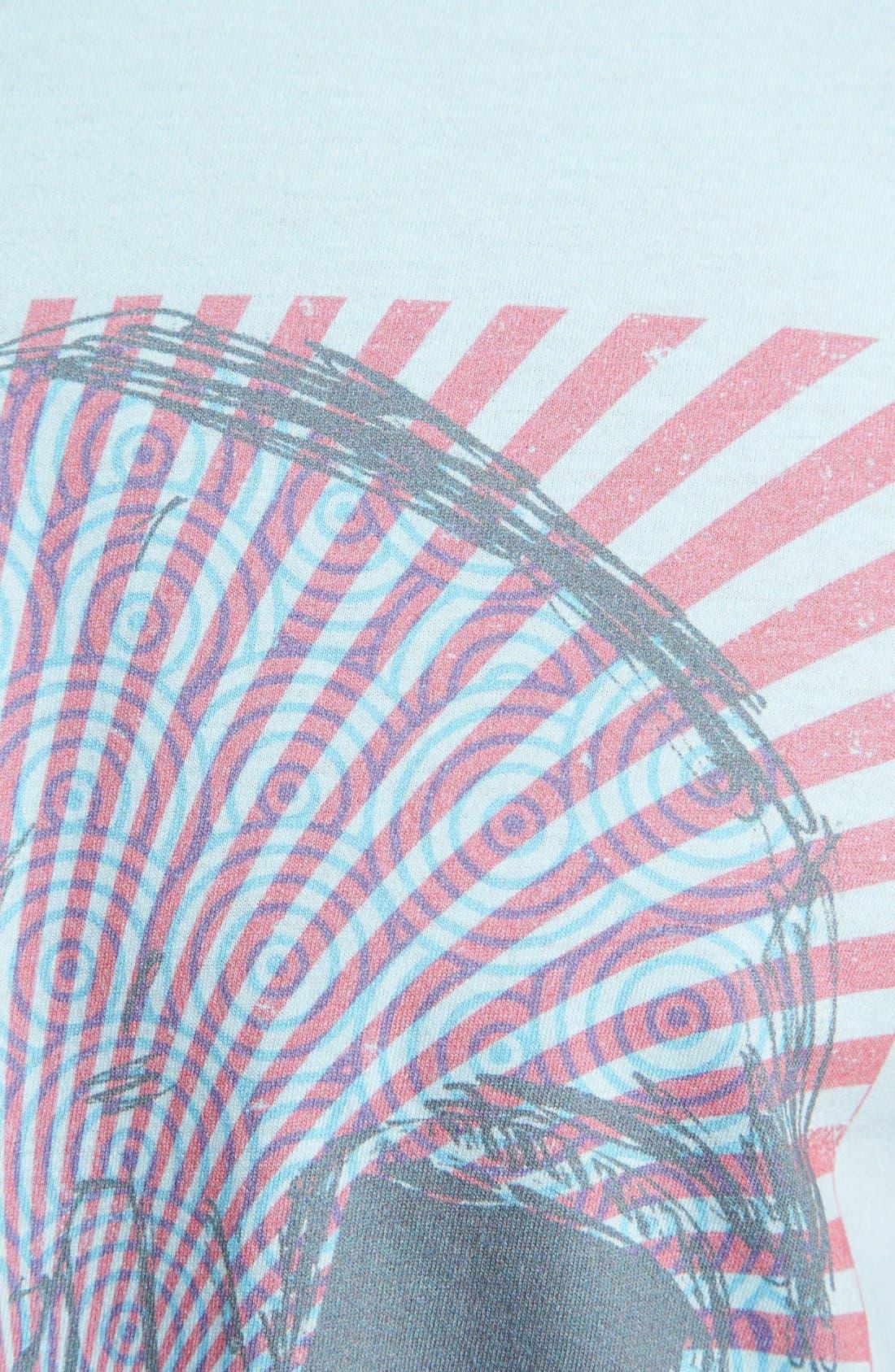Alternate Image 3  - The Poster List 'Swirl Skull' T-Shirt