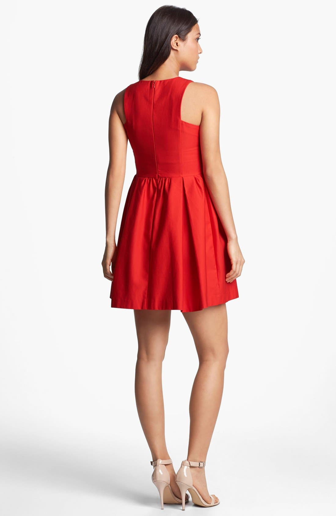 Alternate Image 2  - BB Dakota 'Anisa' Cotton Fit & Flare Dress