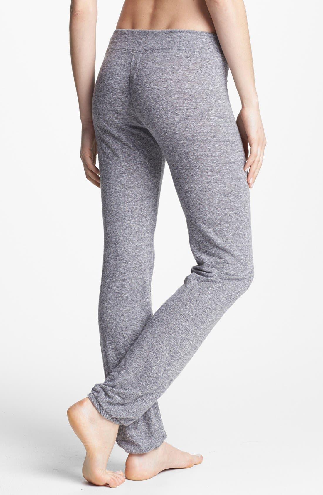 Alternate Image 2  - Monrow Vintage Granite Jersey Sweatpants