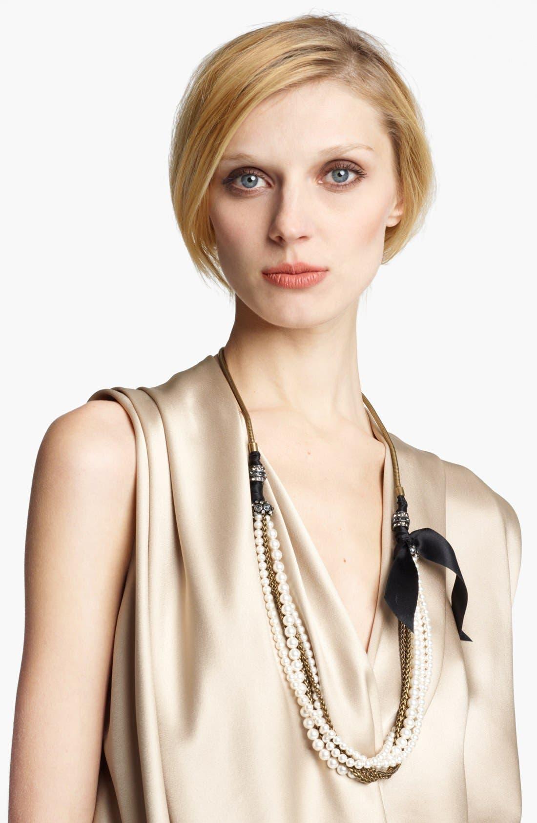 Alternate Image 1 Selected - Lanvin 'Metropolis' Long Chain Necklace