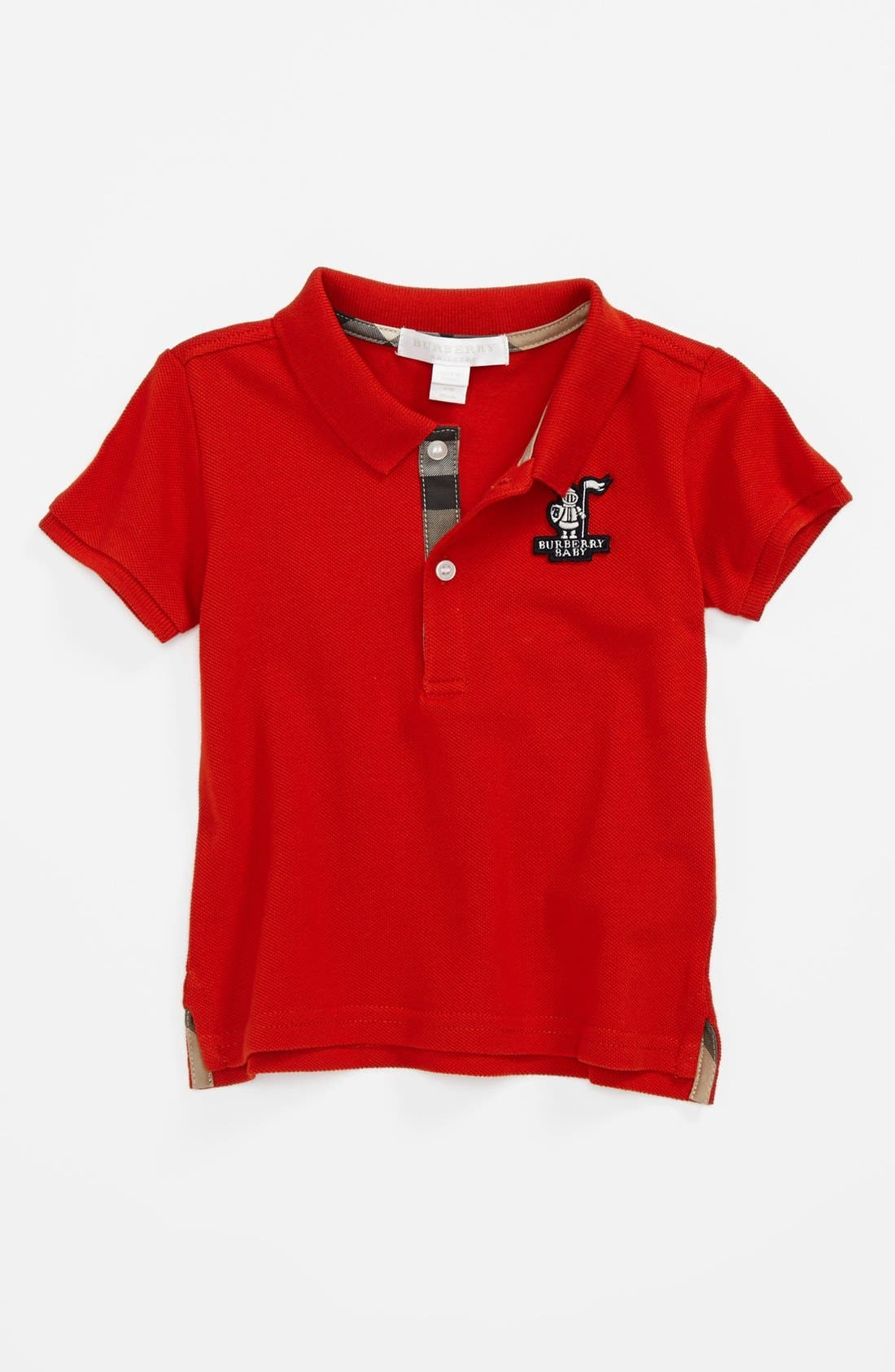Main Image - Burberry 'Palmer' Polo (Baby Boys)