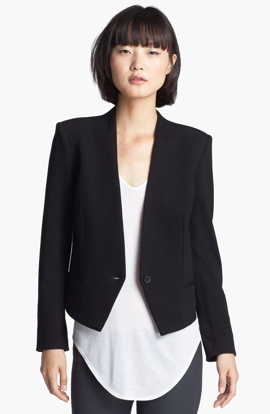 Alternate Image 1 Selected - HELMUT Helmut Lang 'Gala' Knit Tuxedo Blazer