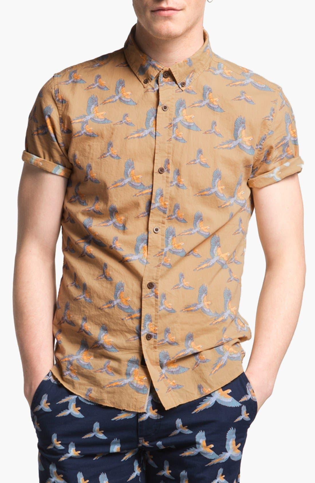 Alternate Image 1 Selected - ZANEROBE Print Woven Shirt