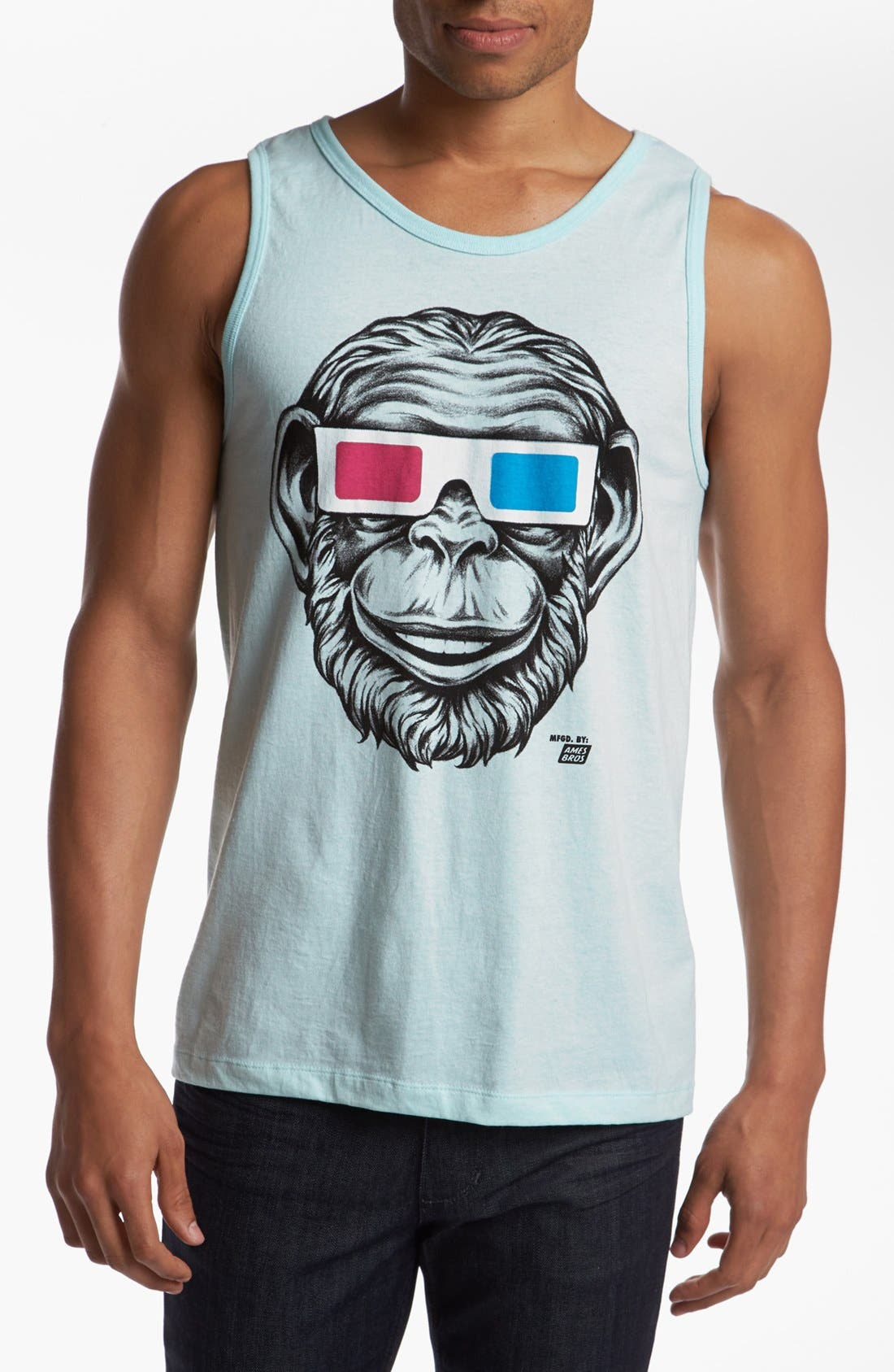 Alternate Image 1 Selected - Ames Bros '3D Monkey' Tank Top