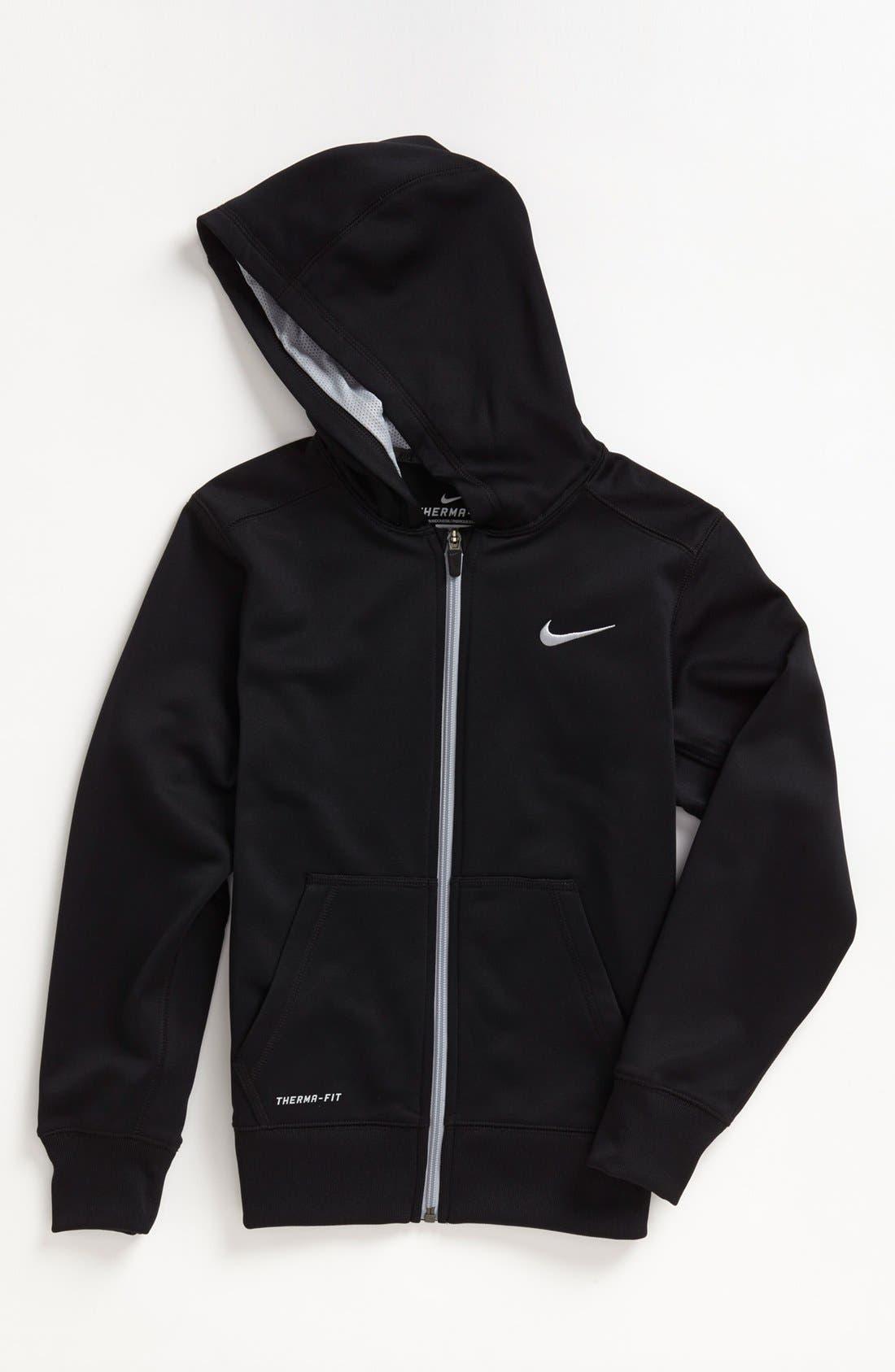 Main Image - Nike 'KO 2.0' Therma-FIT™ Hoodie (Big Boys)