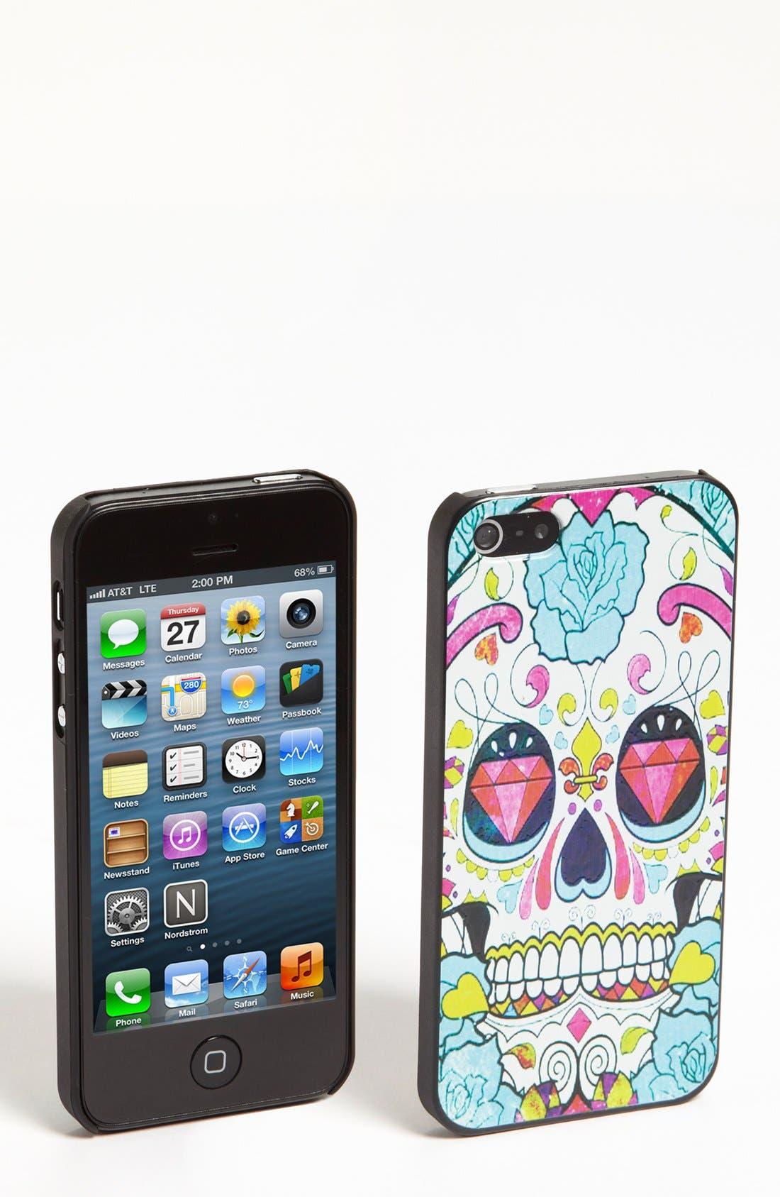 Alternate Image 1 Selected - Natasha Couture 'Skull' iPhone 5 Case