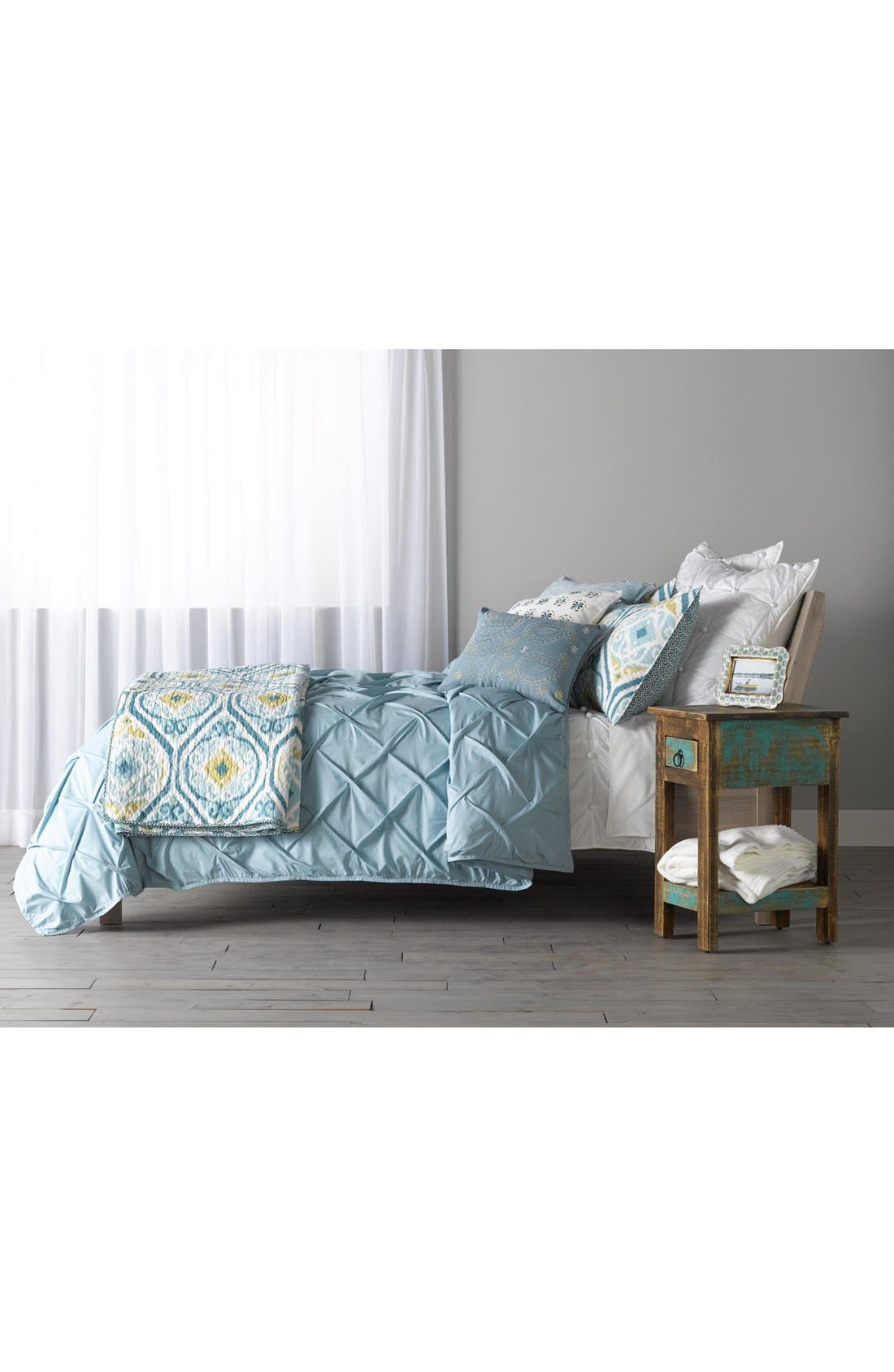 Alternate Image 6  - Nordstrom at Home 'Pom Squares' Euro Sham