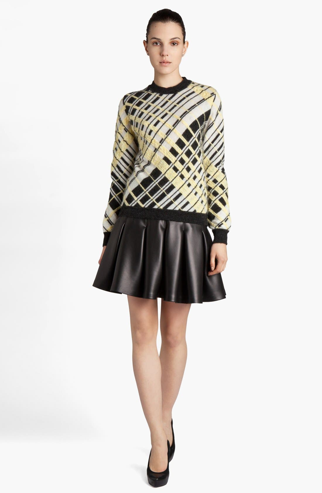 Alternate Image 1 Selected - MSGM Geometric Print Sweater