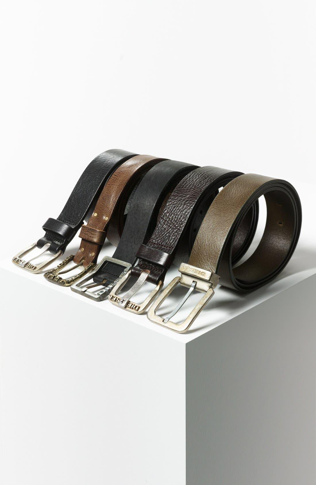 Alternate Image 3  - DIESEL® 'Begles' Leather Belt