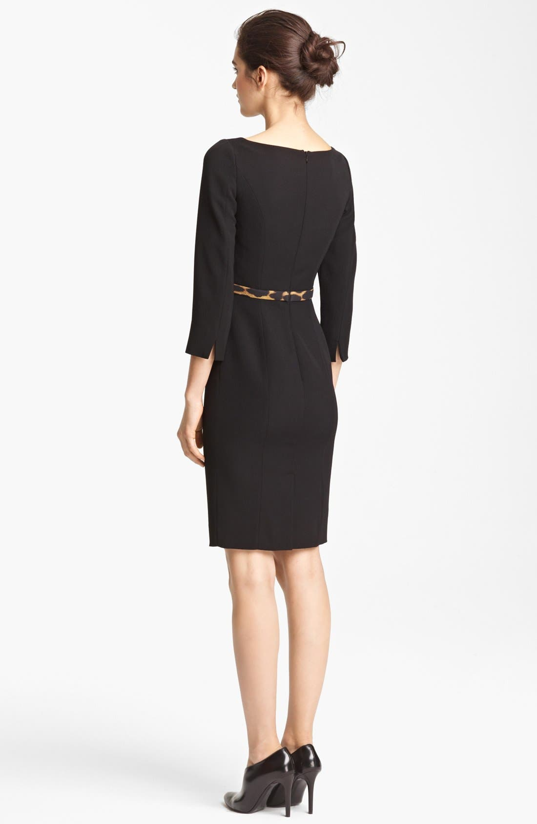 Alternate Image 2  - Moschino Cheap & Chic Belted Dress