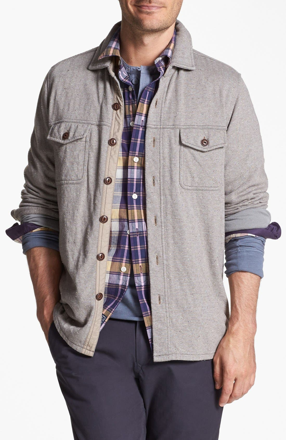 Main Image - Tommy Bahama Denim 'Power Nep' Knit Jacket