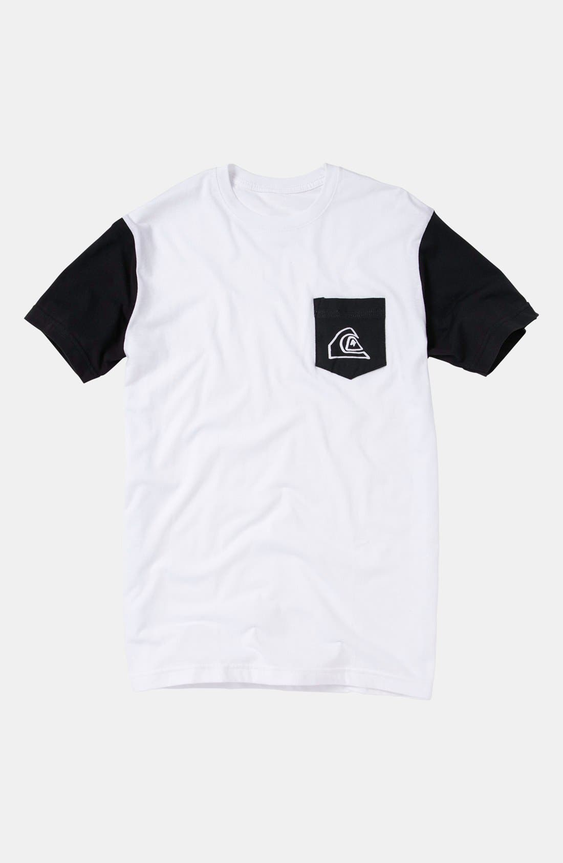 Main Image - Quiksilver 'Vertebrae' T-Shirt (Big Boys)