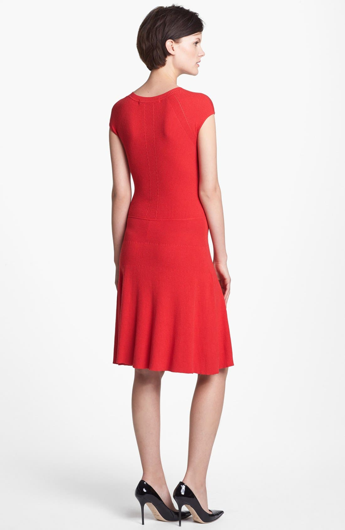 Alternate Image 2  - MARC BY MARC JACOBS 'Wanda' A-Line Sweater Dress