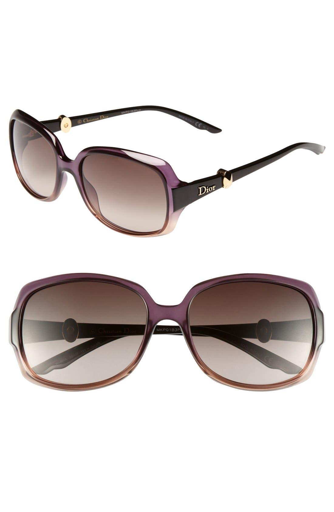 Main Image - Dior 'Mystery 2' 56mm Sunglasses