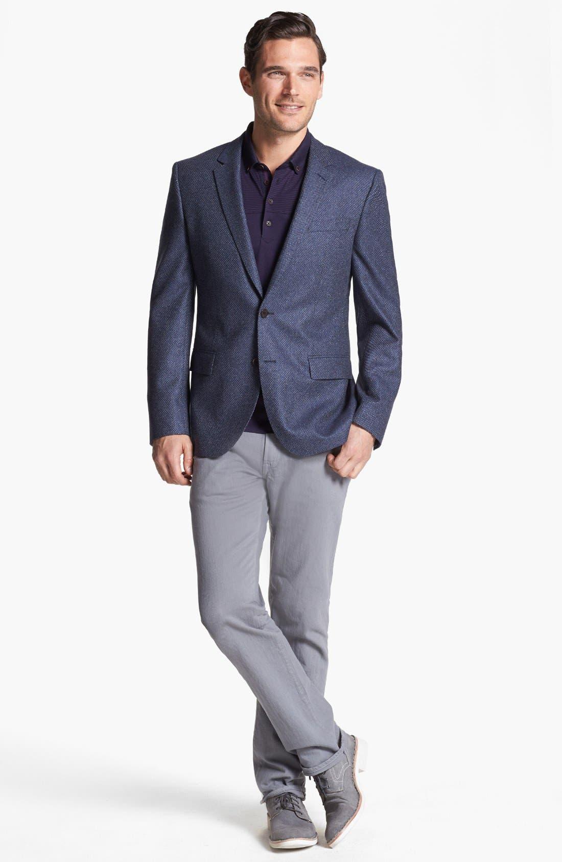 Alternate Image 4  - BOSS HUGO BOSS 'Hutch' Trim Fit Sportcoat