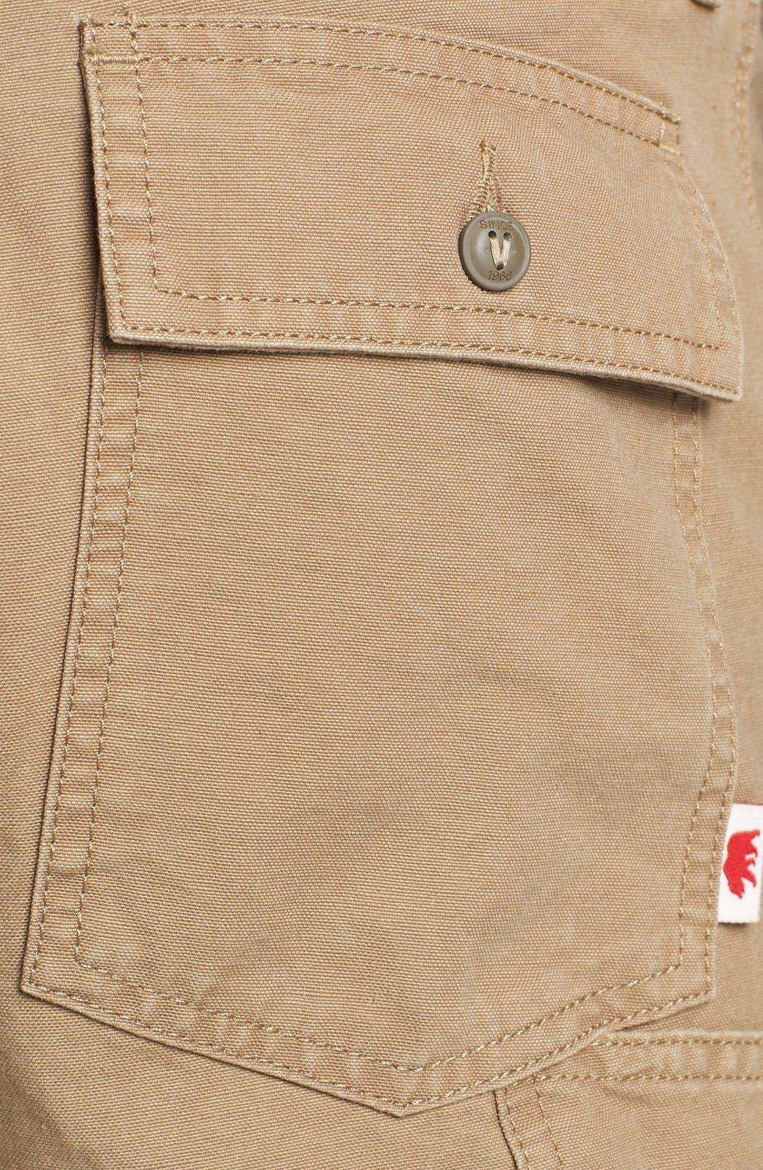 Alternate Image 3  - Vans 'Cali Carpenter' Slim Fit Canvas Pants