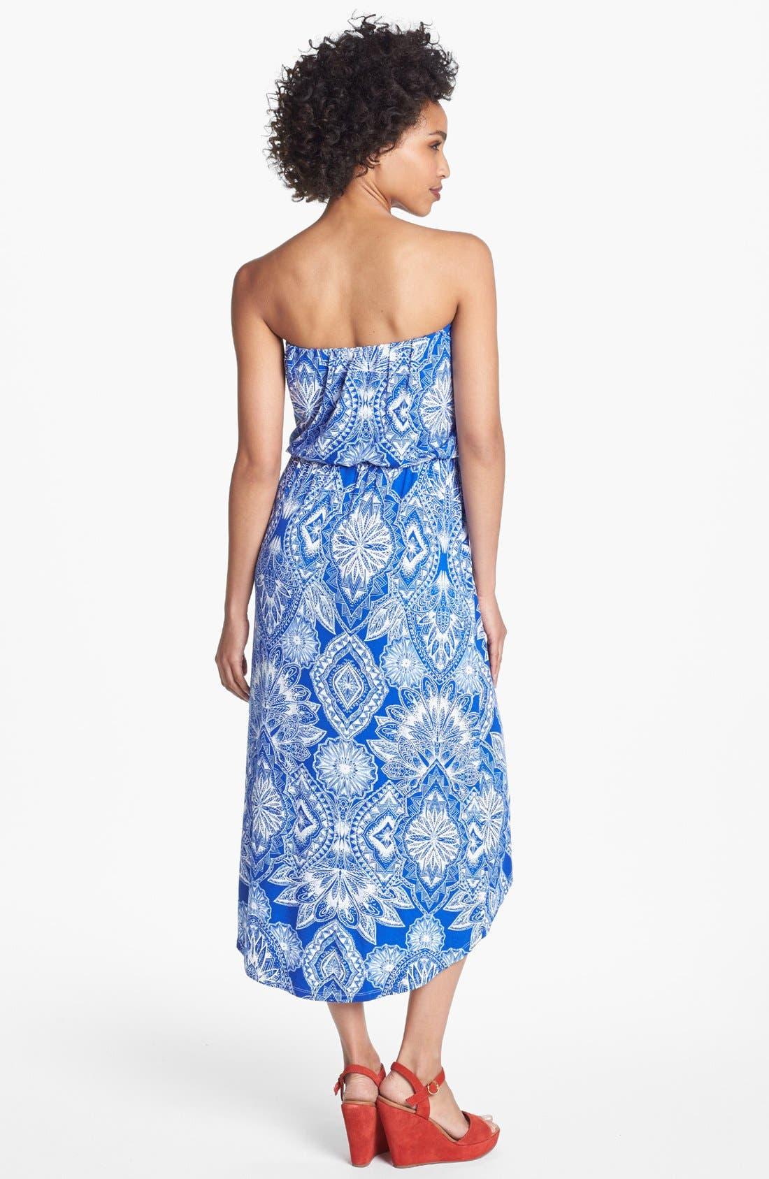 Alternate Image 2  - Felicity & Coco 'Delanie' High/Low Blouson Dress (Nordstrom Exclusive)
