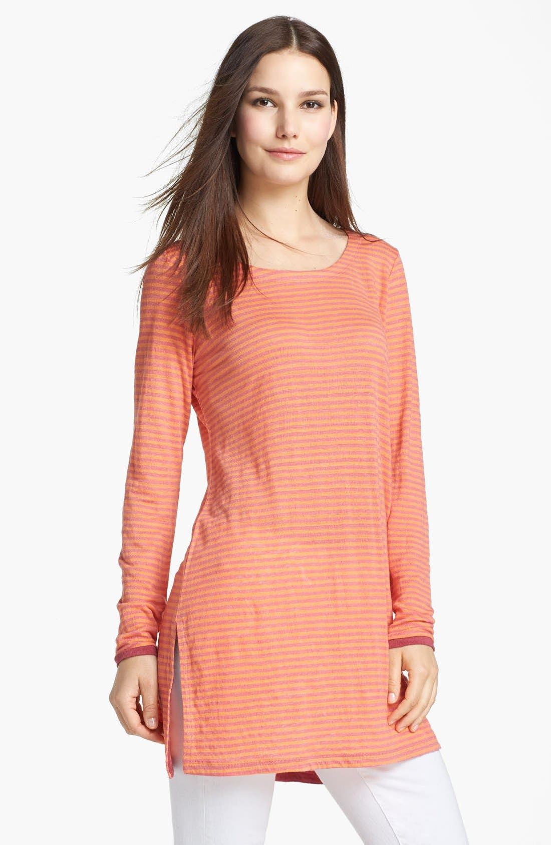 Alternate Image 1 Selected - Eileen Fisher Scoop Neck Tunic