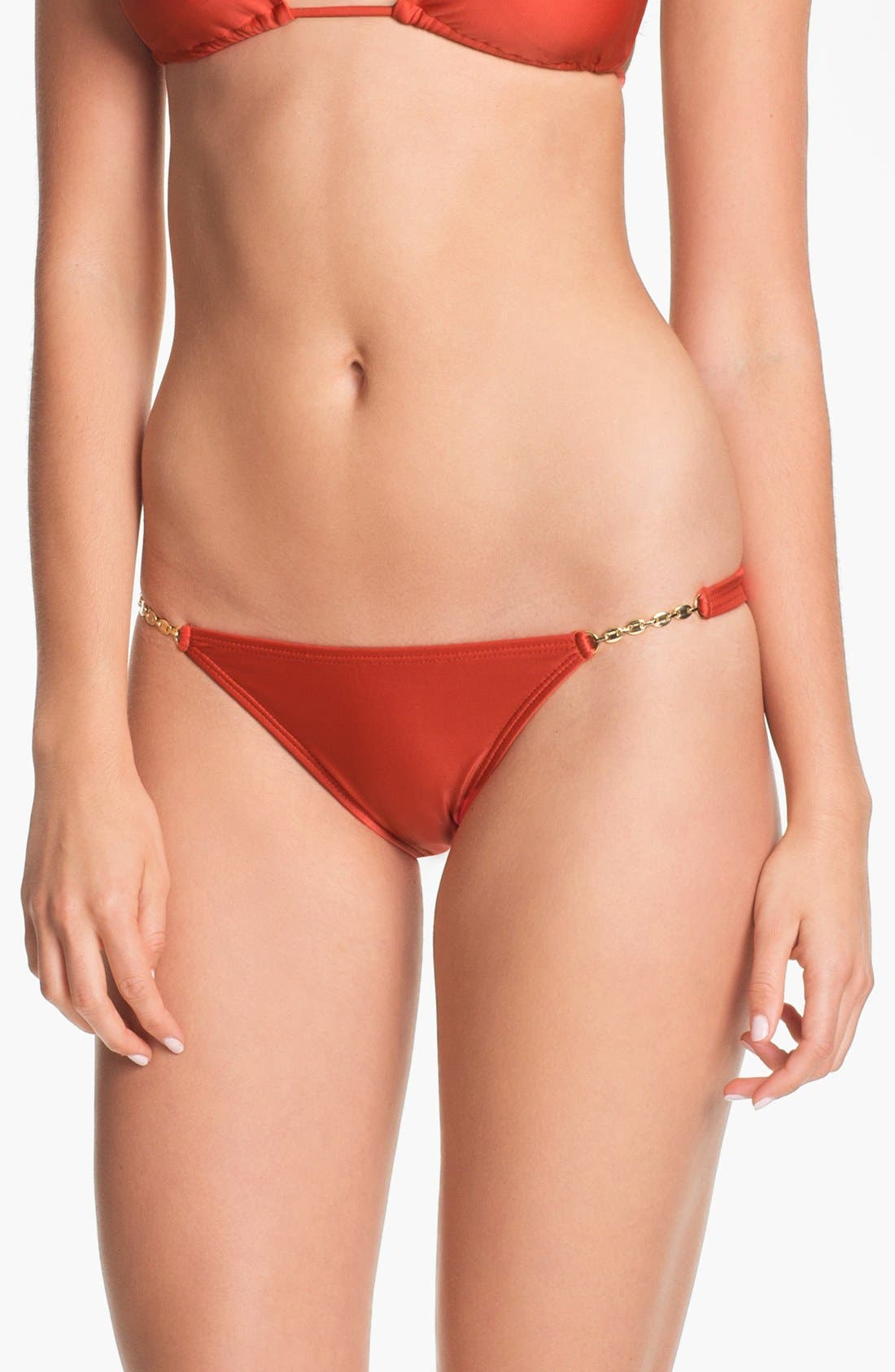 Alternate Image 2  - ViX Swimwear Hardware Detail Bikini Bottoms