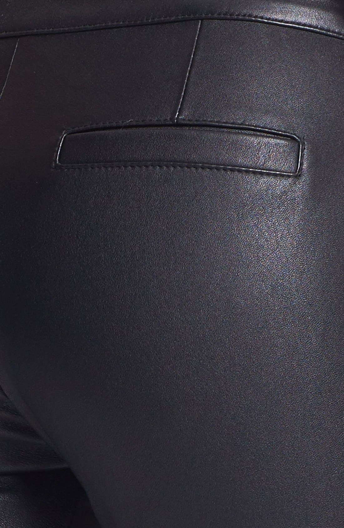 Alternate Image 5  - Rachel Zoe 'Maxine' Skinny Stretch Leather Pants