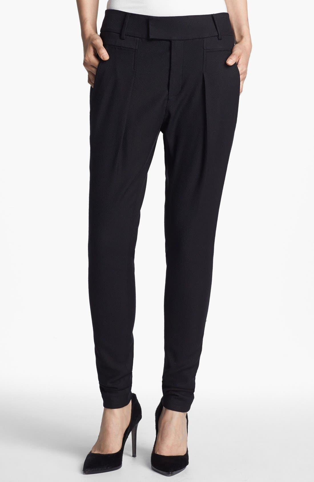 Alternate Image 1 Selected - Helmut Lang Draped Pants