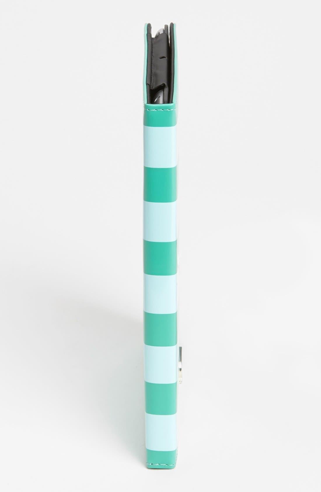 Alternate Image 2  - kate spade new york 'petula stripe' iPad 2 & 3 folio