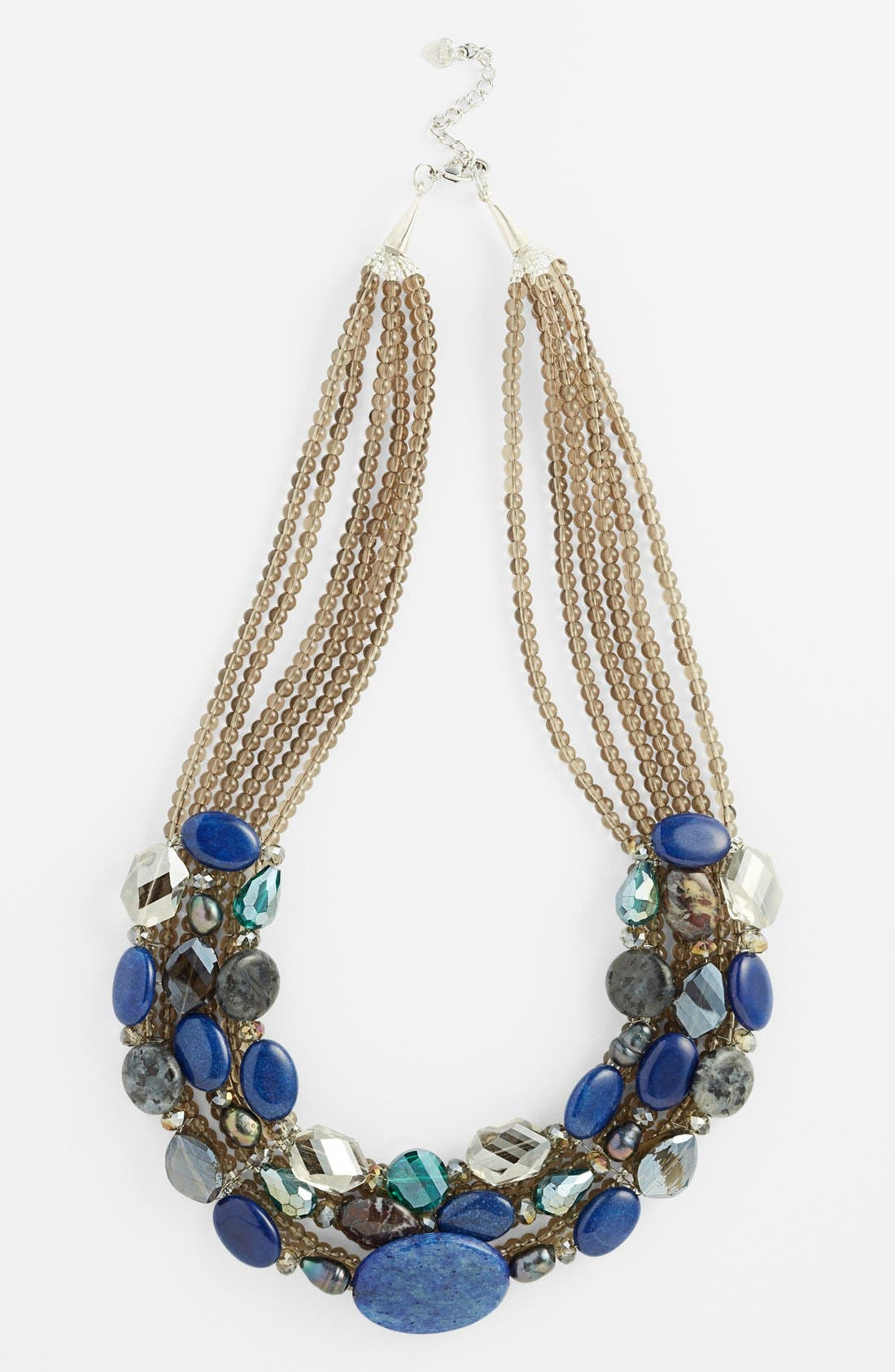 Alternate Image 1 Selected - Nakamol Design 'Smooth Stone' Collar Necklace