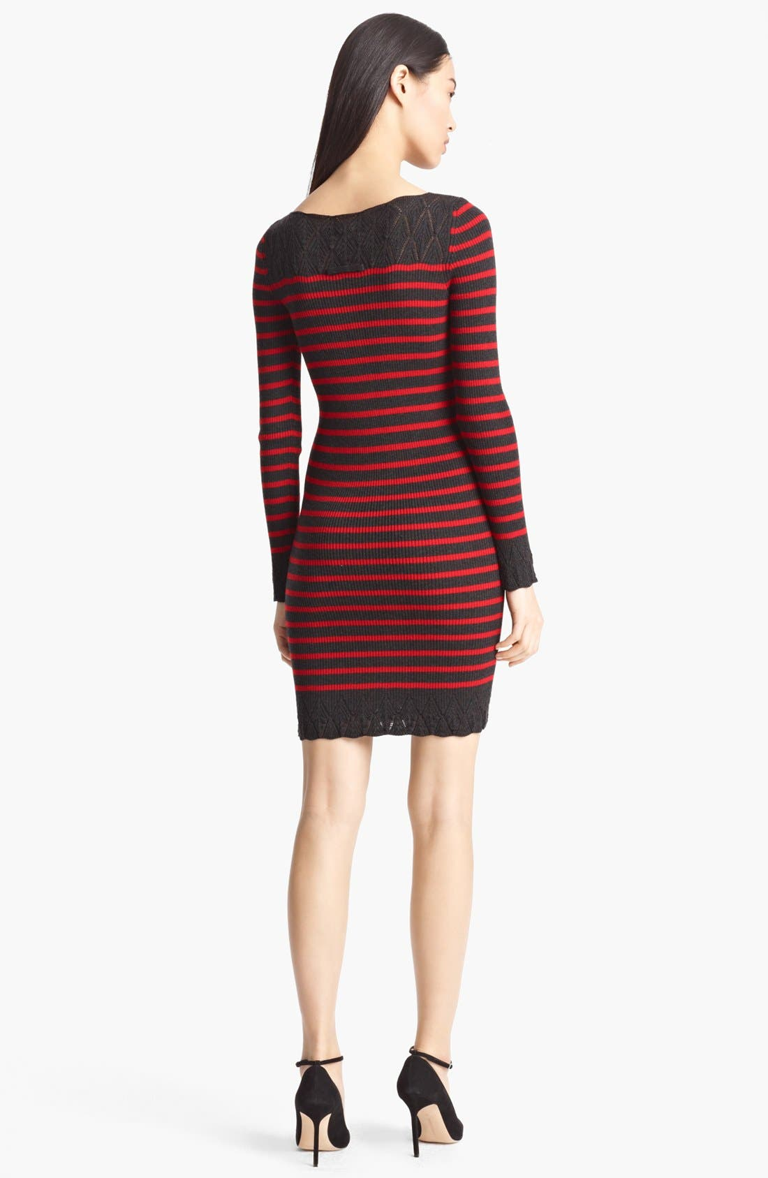 Alternate Image 2  - Jean Paul Gaultier Fuzzi Nautical Stripe Knit Dress