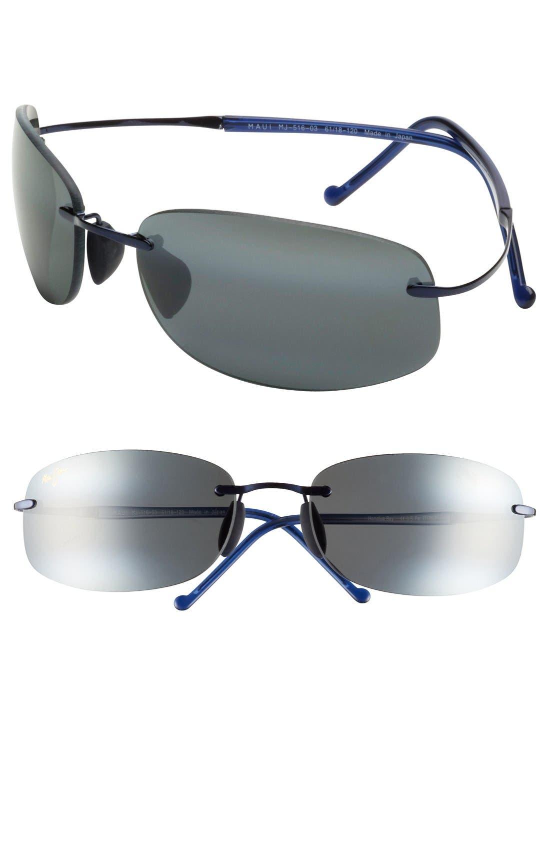 Main Image - Maui Jim 'Honolua Bay' 61mm Hingeless Sunglasses