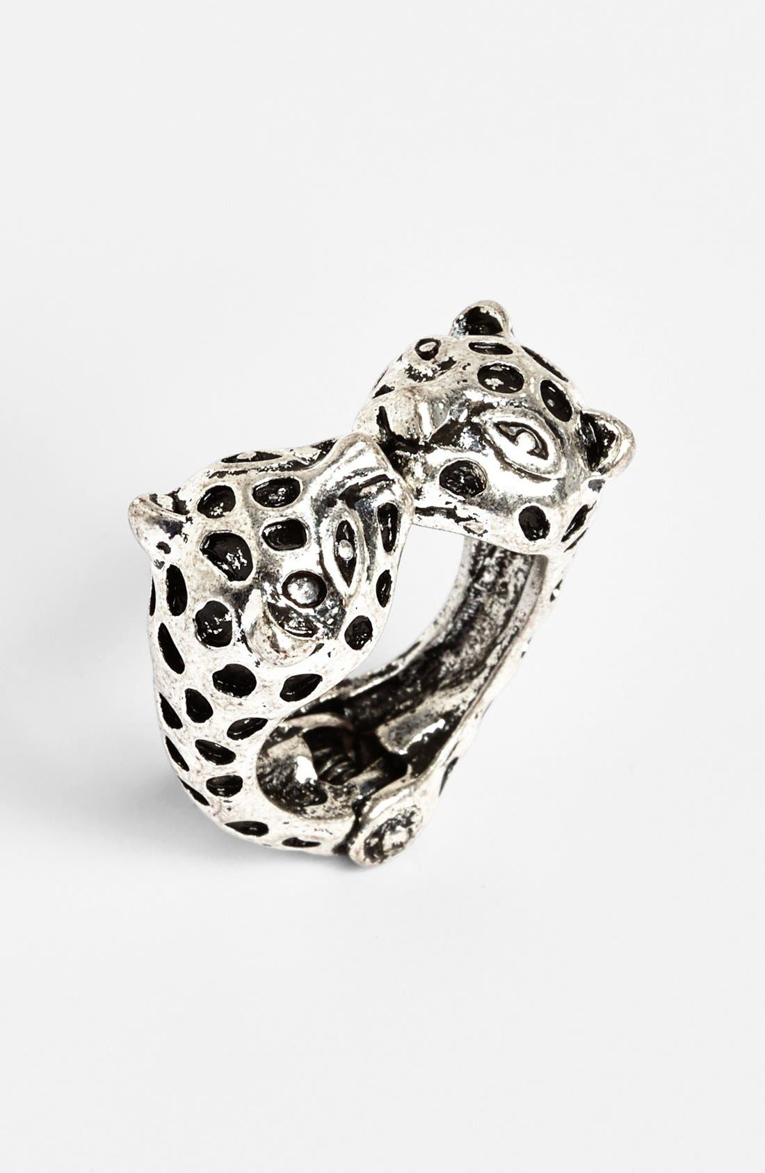 Main Image - Cachet Creations 'Cheetah' Ring (Juniors)