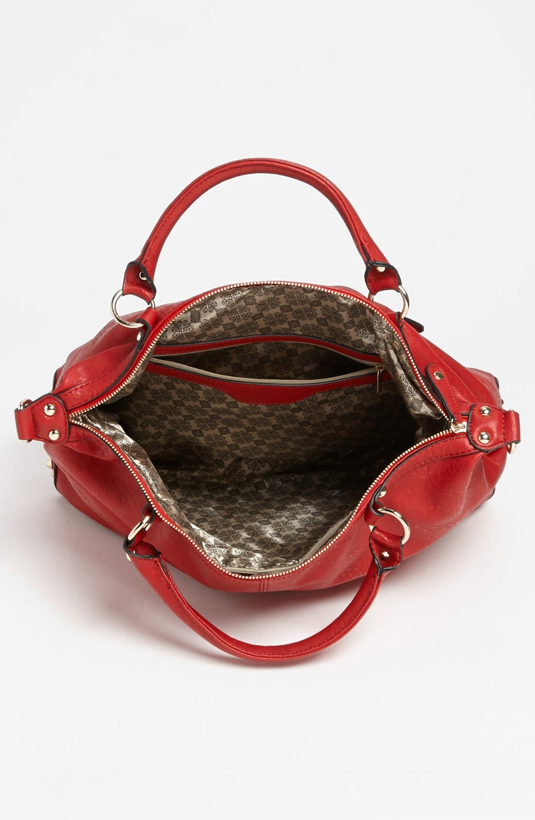 Alternate Image 3  - Emperia Studded Faux Leather Tote (Juniors) (Online Only)