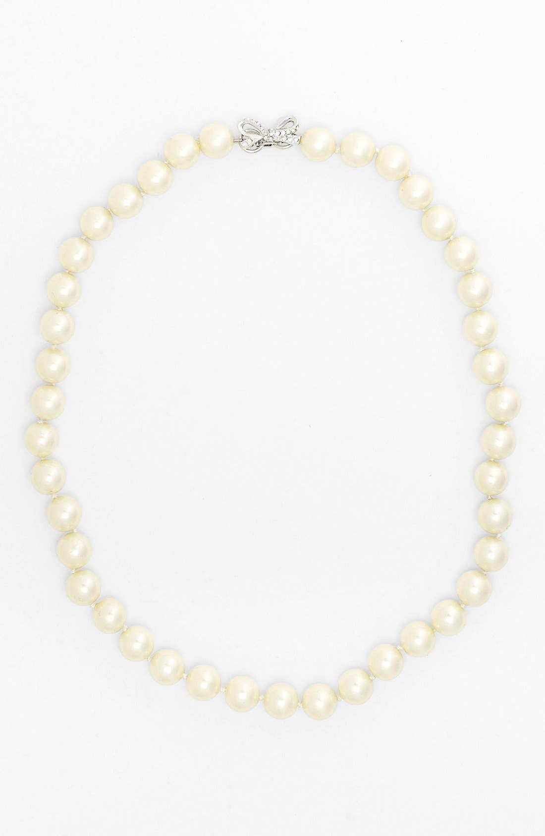 Alternate Image 2  - kate spade new york 'skinny mini' faux pearl collar necklace